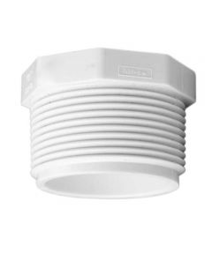 3/4 in. PVC Plug, MIP
