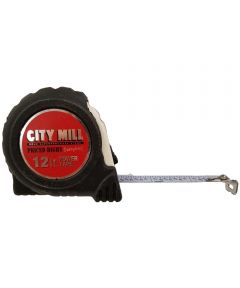 City Mill Logo 12 ft. Tape Rule