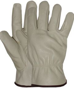 Medium Men's Grain Leather Gloves