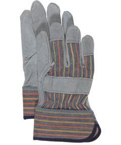 Kid's Split Leather Palm Gloves