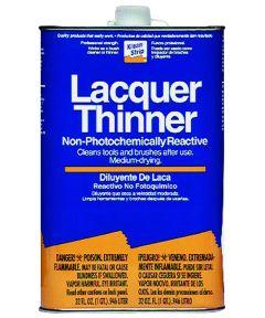 Klean-Strip Lacquer Thinner, 1 qt Metal Can, Water White, Liquid