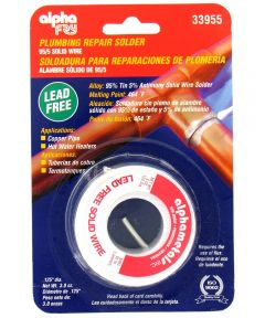 95/5 Lead-Free Solid Wire Solder