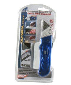 Blue X-Knife