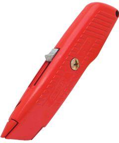 Safety-Orange Self-Retracting Utility Knife