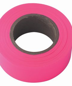 150 ft. x 1-3/16 in. Pink Fluorescent Flagging Tape