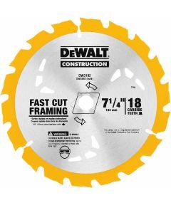 DEWALT 7-1/4 in. 18T Carbide Circular Saw Blade