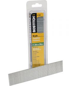 Stanley Bostitch Stick Collated Nail, 0.0475 in. x 1 in., Steel