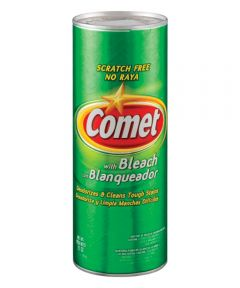 Comet All Purpose Cleanser With Bleach Cleaner, 21 oz Can, Powder