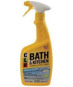 CLR Fresh Scent Bath & Kitchen Foaming Cleaner, 26 oz.