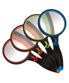 Performance Tool LED 4X Power Magnifying Glass, Assorted Colors