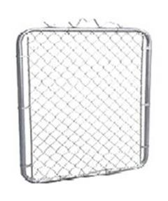 Walk Gate, 36 in L x 36 in H x 12.5 ga T