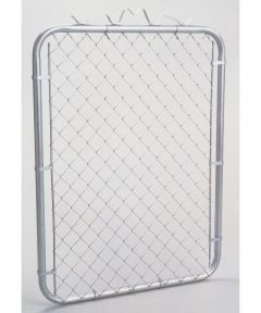 Chain Link Walk Gate, 1-3/8 in, 39 in W x 48 in H, Steel