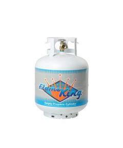 20 lb. Steel Propane Cylinder with Overflow Protection Device Valve and Built-in Gauge