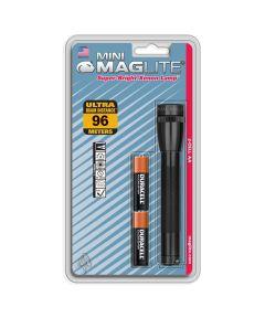 Mini Maglite Flashlight, Black, 1AA