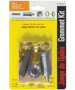 #3 Brass Handi-Grommet Kits 12 Count