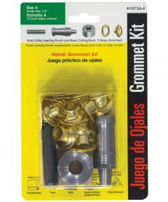 #4 Brass Handi-Grommet Kits 12 Count