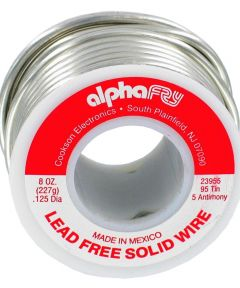 1/2 lb 95/5 Spool Lead-Free Solid Wire Solder