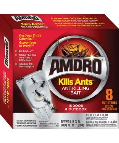 Amdro Kills Ants Ant Killing Bait, 8 Count Pack, Semi-Solid