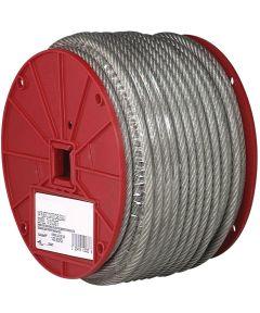 Flexible Aircraft Cable, 1/8 in. (Dia), 340 lb (Sold Per Foot)