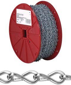 Single Jack Chain, NO 12, 29 lb, Low Carbon Steel (Sold Per Foot)