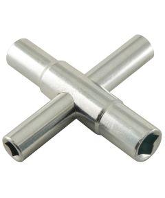4-Way Steel Sillcock Key