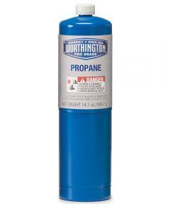 14.1 oz. Blue Disposable Propane Torch Cylinder