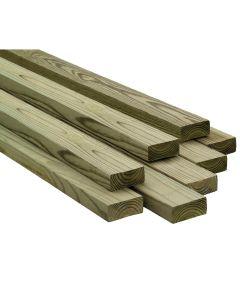 2 in. x 6 in. x 8 ft. Treated Douglas Fir Lumber S4S