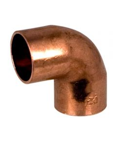 1/2 in. Copper 90 Degree  Elbow, C x C, Bag of 10