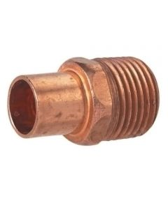1/2 in. Copper Male Adapter, C x M, Bag of 10