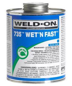 1/2 Pint Blue 735 Wet 'N Fast