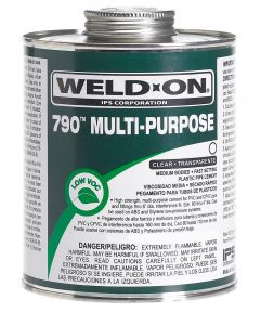 1/2 Pint Clear 790 Multi-Purpose Cement
