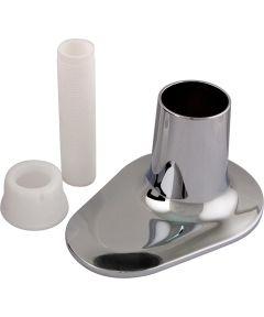 Teardrop Tub and Shower Flange