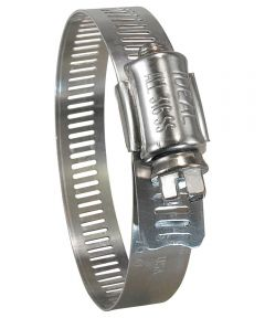 7/16 - 25/32 in. Marine Grade Stainless Steel Hose Clamp