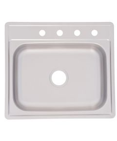 6.5 in. Single Bowl Sink