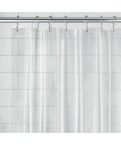 54x78 Inch EVA Vinyl PVC-Free Shower Curtain Liner with Metal Grommets, Frost Color