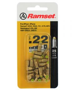 .22 Caliber Yellow Ramset Powder Single Load 42CW 25 Count