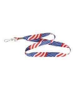 USA Flag Lanyard