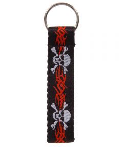 Cloth Loop Clip Strip Key Chain