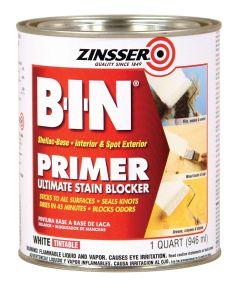 1 Quart Zinsser B-I-N Shellac-Base White Primer