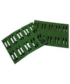 2 in. X1/2 in. Green Timber Fasteners 50 Count