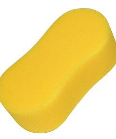 Yellow Bone Shaped Easy Grip Sponge