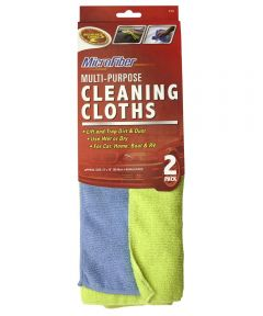 Microfiber Cleaning Cloth 2 Count