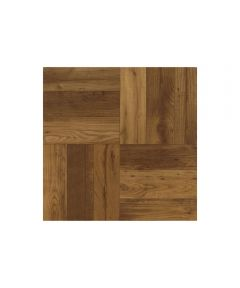 Vinyl Floor Tile Units, Russet Oak