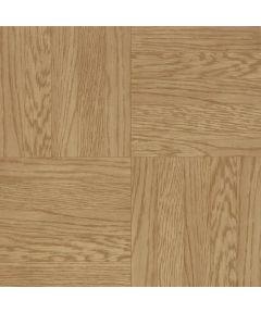 Vinyl Floor Tile Units, Light Oak