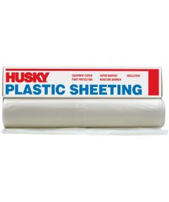 10 ft. x 50 ft. 6 MIL Plastic Sheeting, Clear