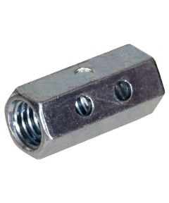 Deep Drawer Coupling Nut with Inspection Hole (5/8-11)