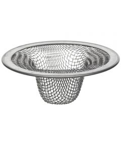 Rust Resistant Lavatory Strainer, 2-1/2 in., Stainless Steel