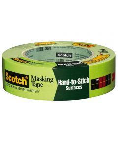 1-1/2 in. Green Scotch Masking Tape For Hard-To-Stick Surfaces