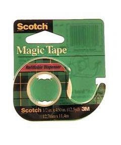 3/4 in. x 650 in. Scotch Magic Tape