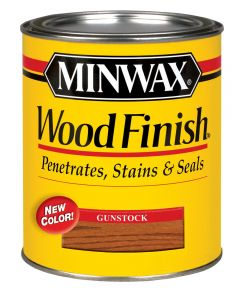 1/2 Pint Gunstock Wood Finish Interior Wood Stain